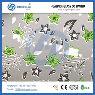 Manufacturer 4mm ice flower pattern decorative mirror glass for door,4mm,5mm,6mm ice flower decorative glass/clear float glass/ultra clear float glass